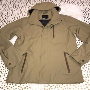 Marmot Hooded Jacket khaki Color